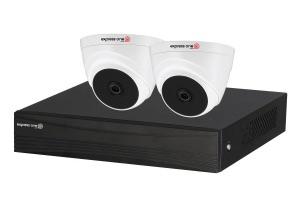 2 camera cctv system