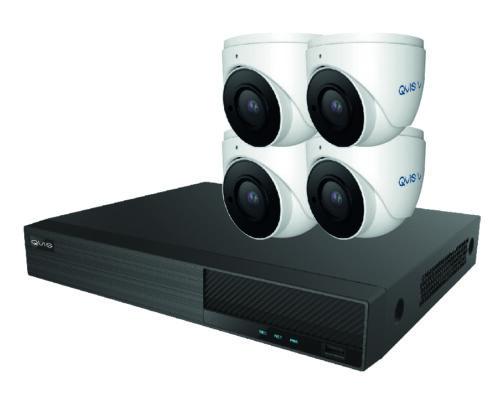 four camera cctv kit